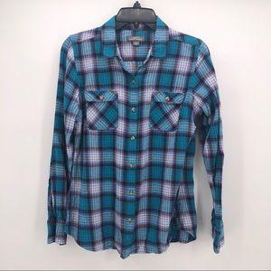 Eddie Bauer Long Sleeve Cotton Shirt